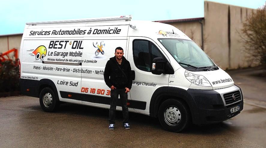 Meet Vincent Chevalier, home mechanic based in Saint-Etienne